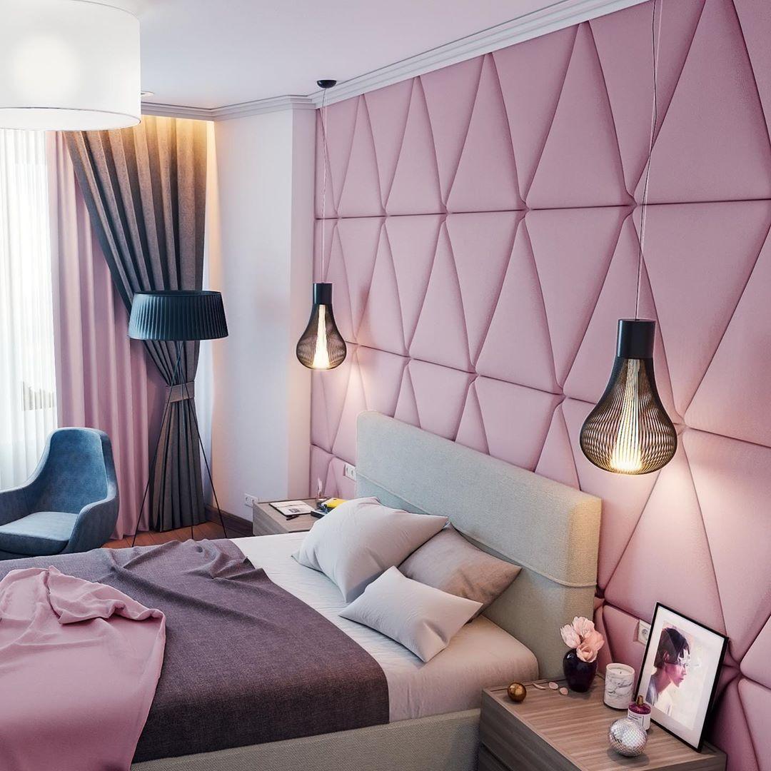 (+60 фото) Интерьер спальни панелями