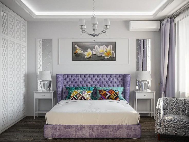 50 фото интерьер спальни арт деко