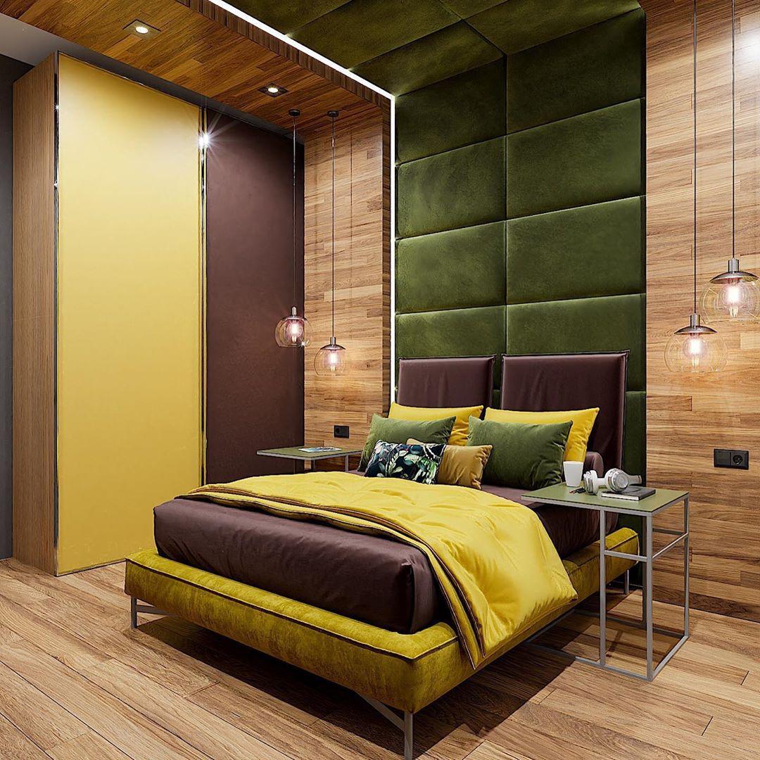 (+90 фото) Интерьер спальни 18 кв