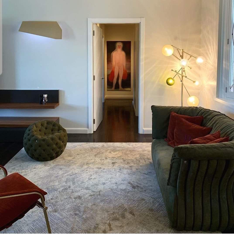 70 фото ковер в современном интерьере гостиной