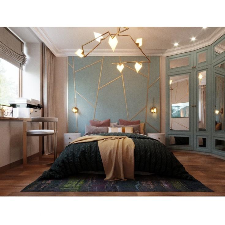 50 фото интерьер спальни с телевизором