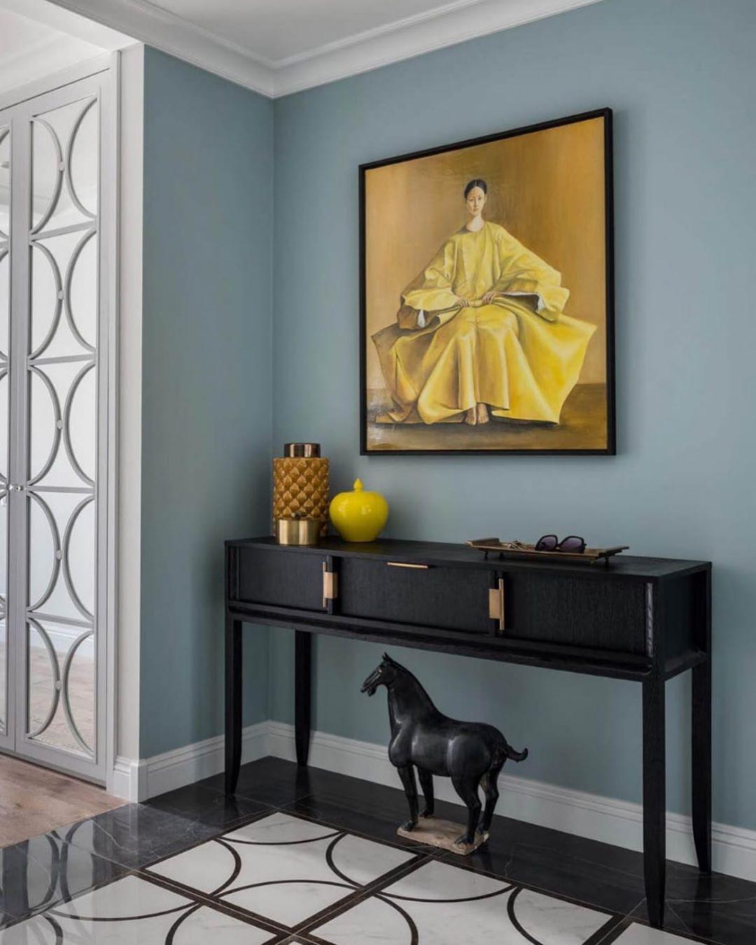 (+54 фото) Желтый цвет в интерьере гостиной