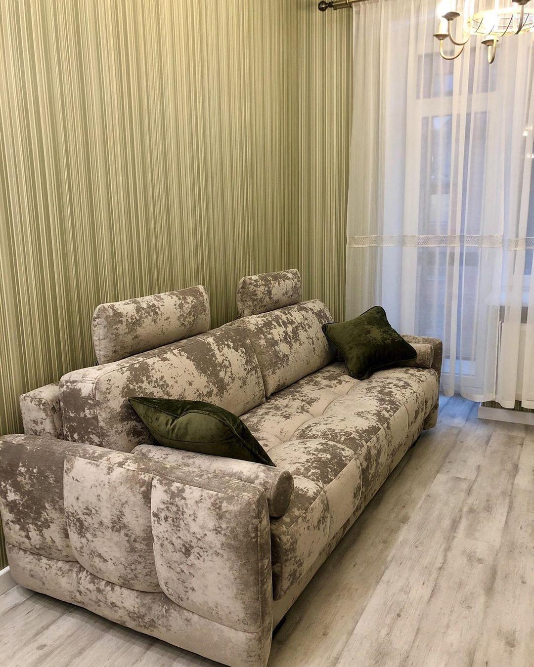 (+100 фото) Диваны в интерьере гостиной