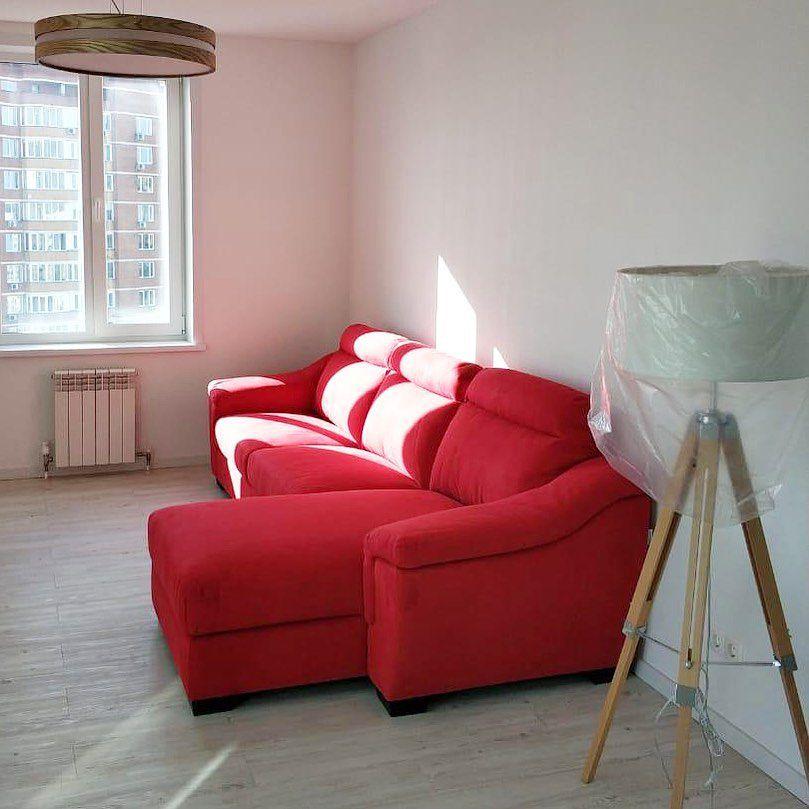 (+56 фото) Красный цвет в интерьере гостиной