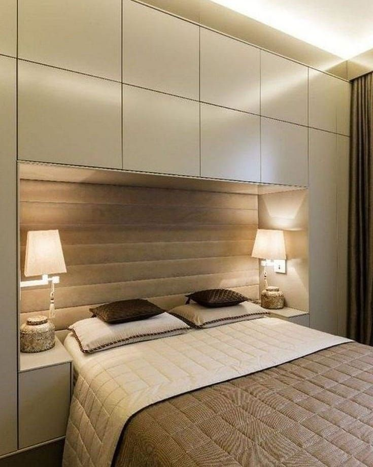 30 фото ламинат в интерьере спальни