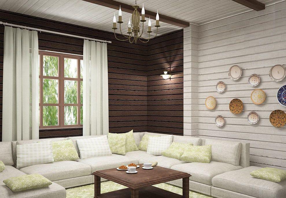 37 фото интерьер гостиной в деревянном доме