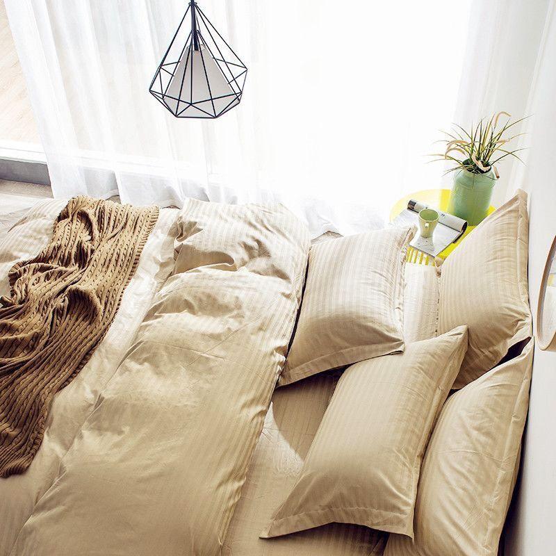 (+120 фото) Бежевый интерьер спальни