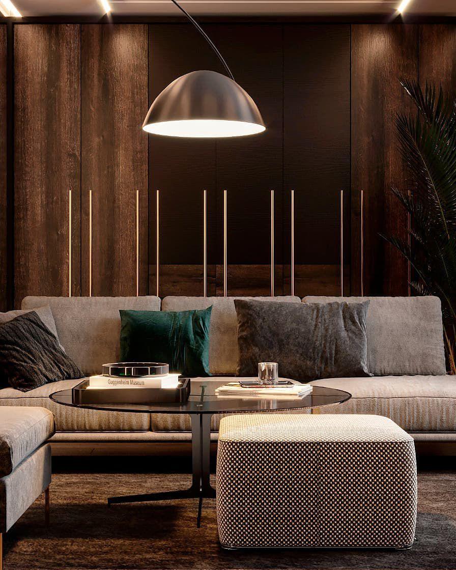 45 фото коричневый цвет в интерьере гостиной фото