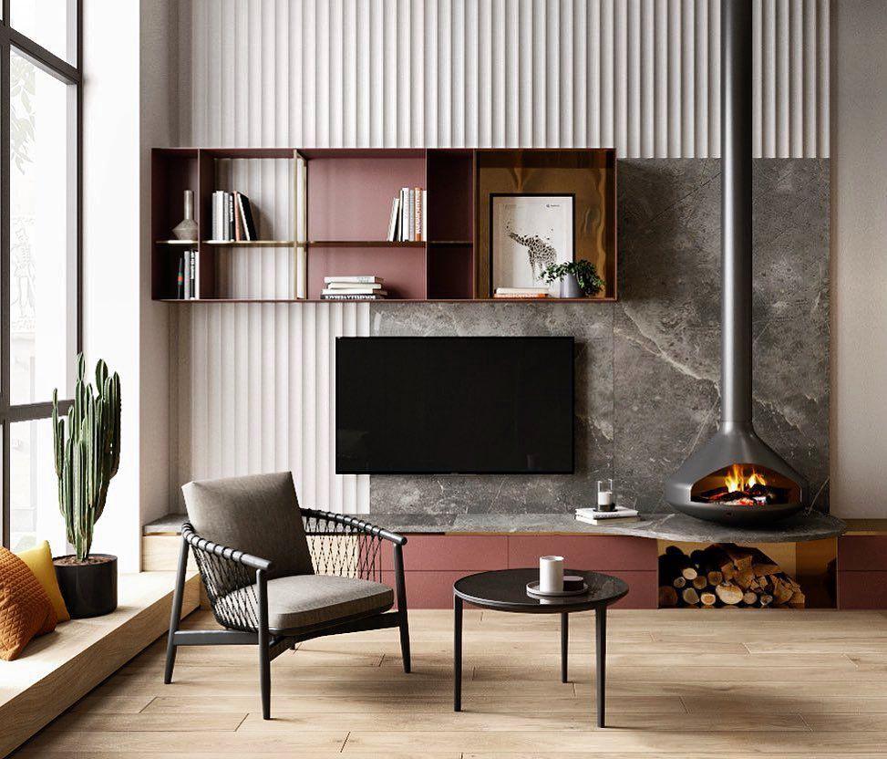 40 фото интерьер гостиной в стиле лофт