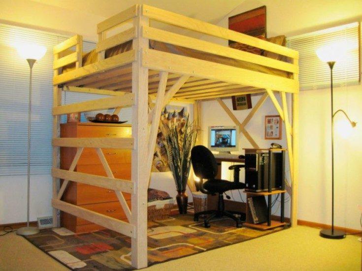 Кровать чердак в интерьере разных комнат 45 фото