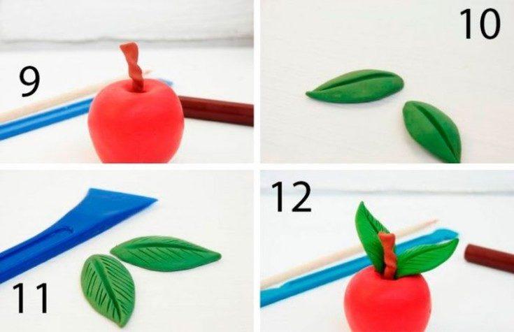 (+80 фото) Что можно сделать из пластилина своими руками