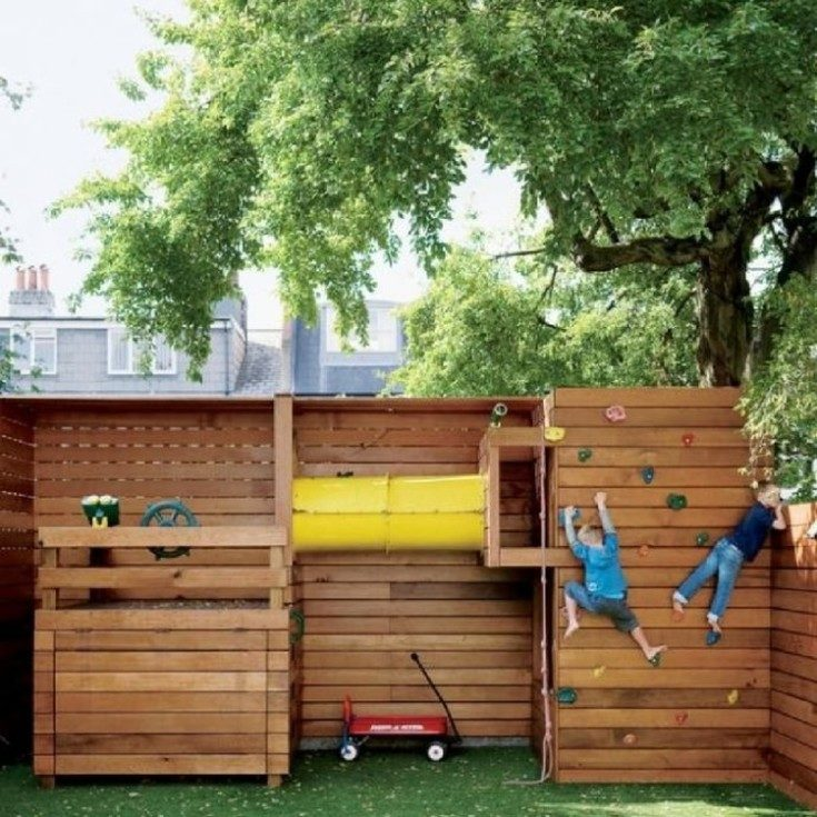 Детские площадки своими руками из подручных материалов