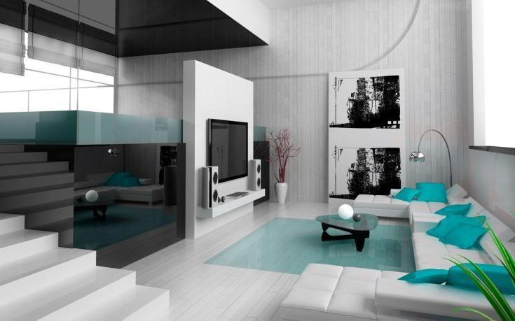 (+49 фото) Cтиль хай тек в интерьере квартиры