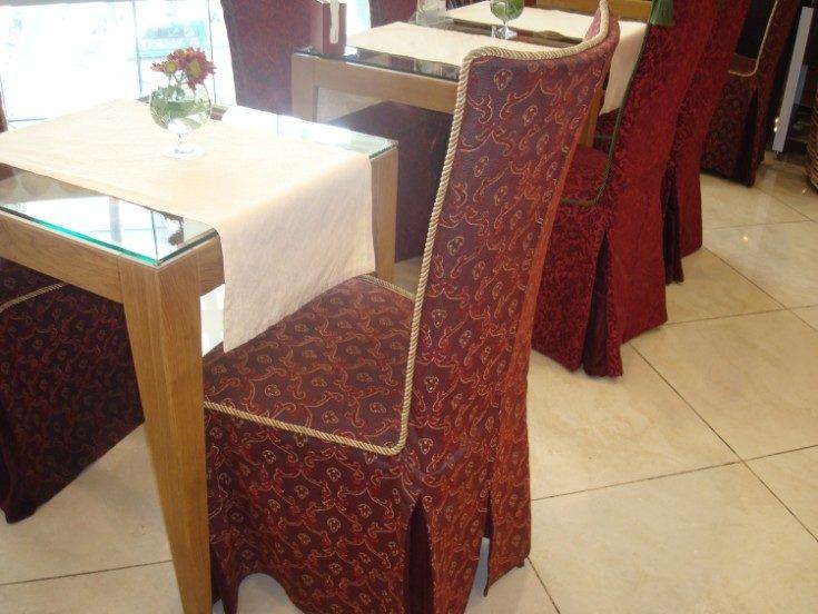 (+75 фото) Чехлы на стулья своими руками: выкройки и фото