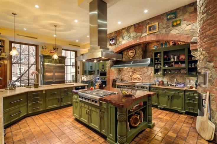 Итальянские кухни в разных стилях интерьера
