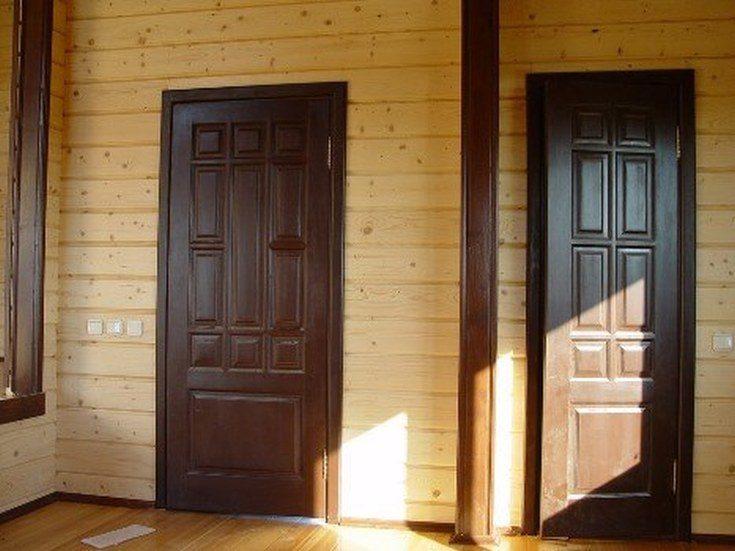 (+75 фото) Внутренняя отделка дома из бруса