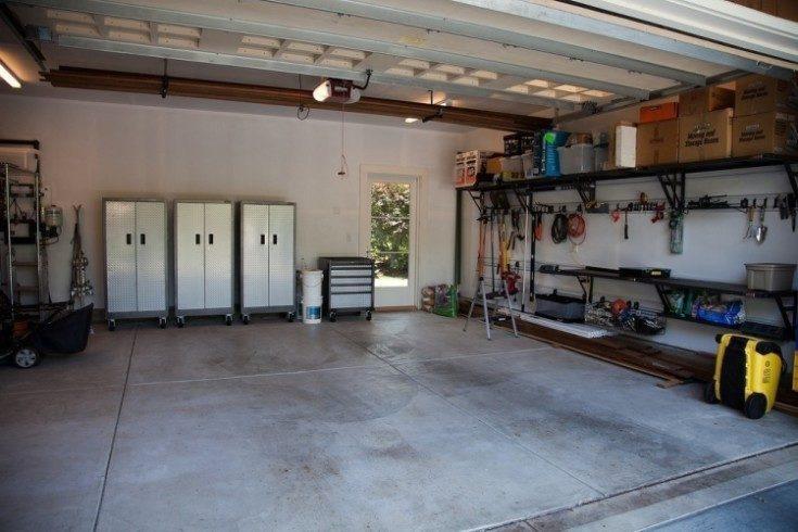 Отделка гаража внутри своими руками фото