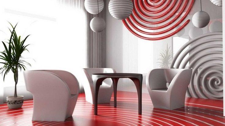 Авангард стиль в интерьере