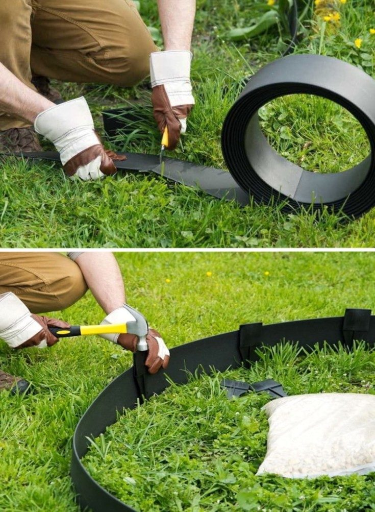 (+65 фото) Идеи красивого и функционального оформления грядок на даче