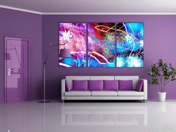 3D рисунки на стенах в квартире: разновидности и правила создания