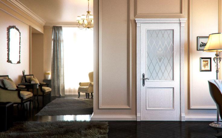 (+60 фото) Белые двери в интерьере