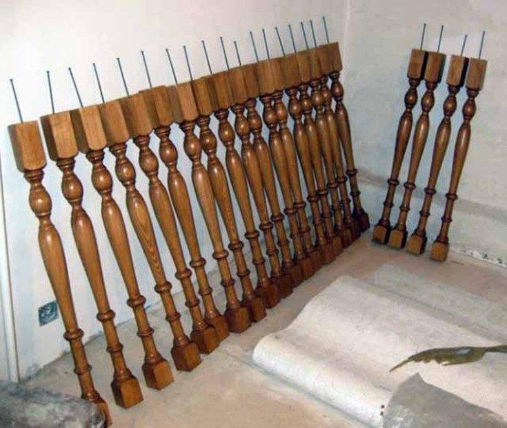 (+49 фото) Лестницы на второй этаж деревянные своими руками
