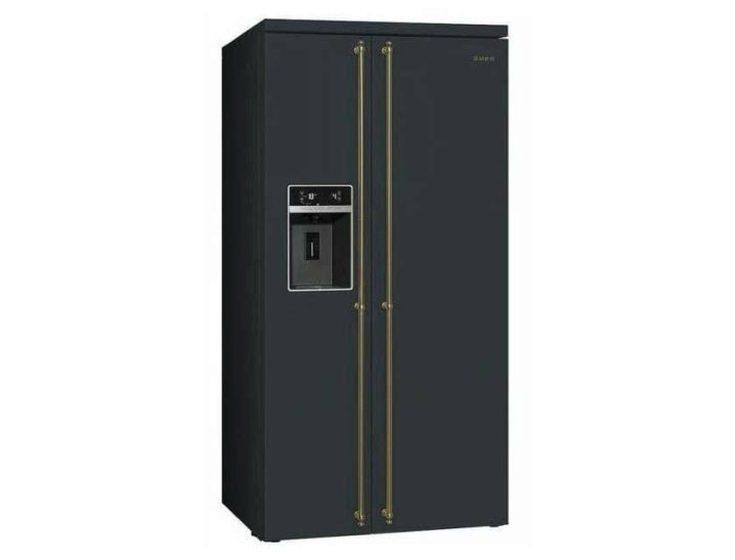 (+55 фото) Холодильник Сайд Бай Сайд в интерьере кухни фото