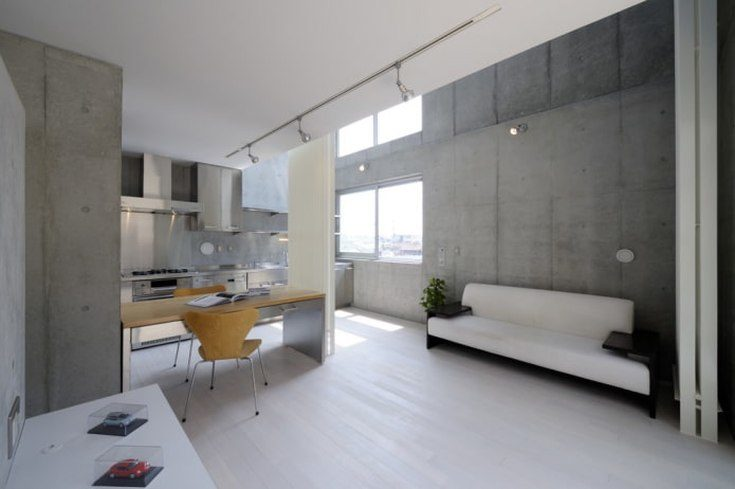 Светлый ламинат в интерьере квартиры фото