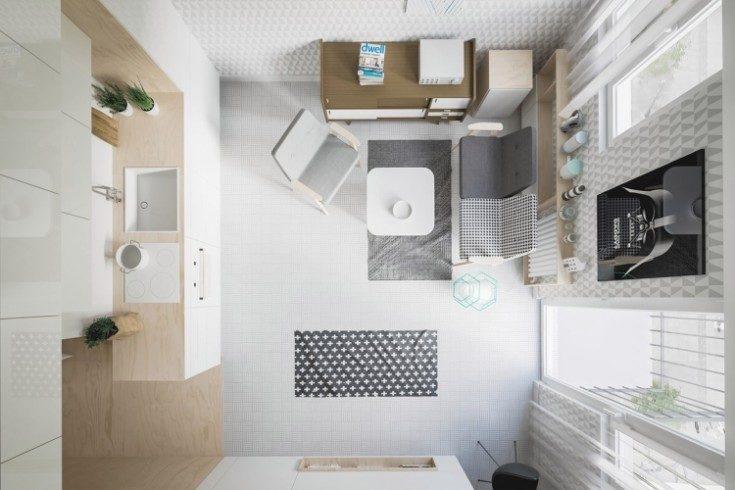 Варианты дизайна студий 20 кв метров