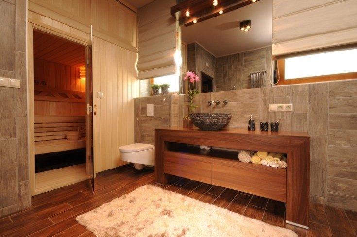 (+62 фото) Идеи интерьера с сауной в квартире 62 фото
