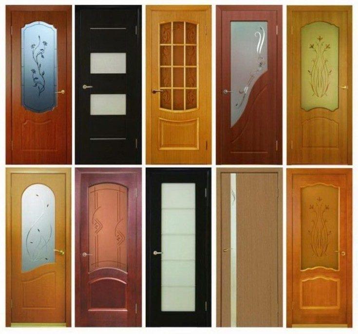 (+58 фото) Двери пластиковые межкомнатные фото