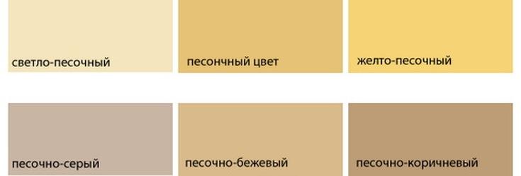 (+30 фото) Сочетание песочного цвета в интерьере