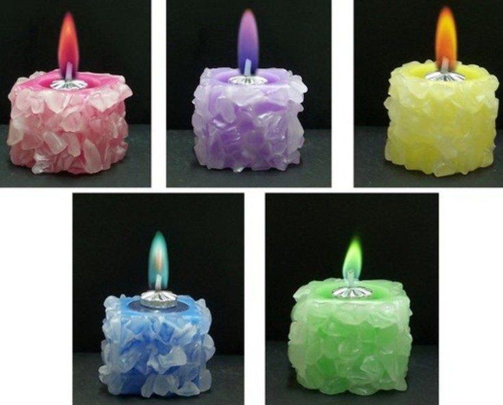 (+66 фото) Свечи своими руками в домашних условиях