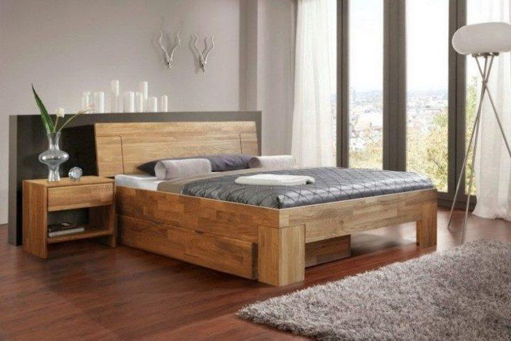 Двуспальные кровати: материалы и виды
