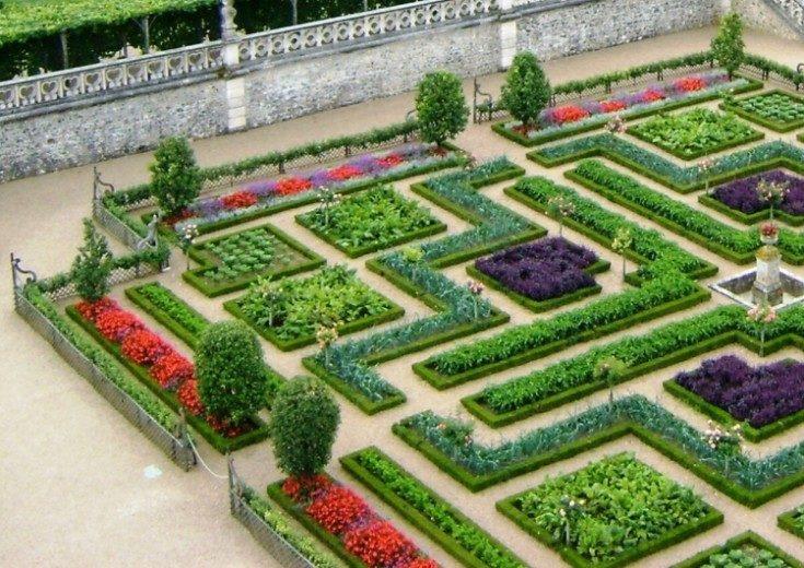 Как правильно сделать декоративный огород 40 фото