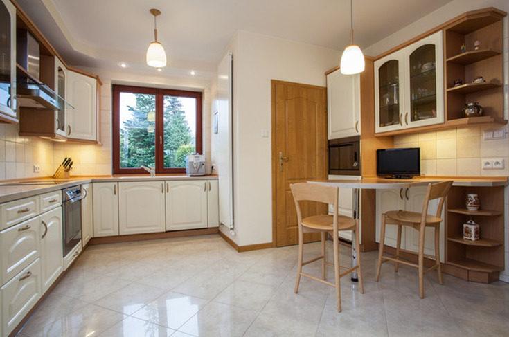 (+115 фото) Дизайн кухни 12 кв. метров