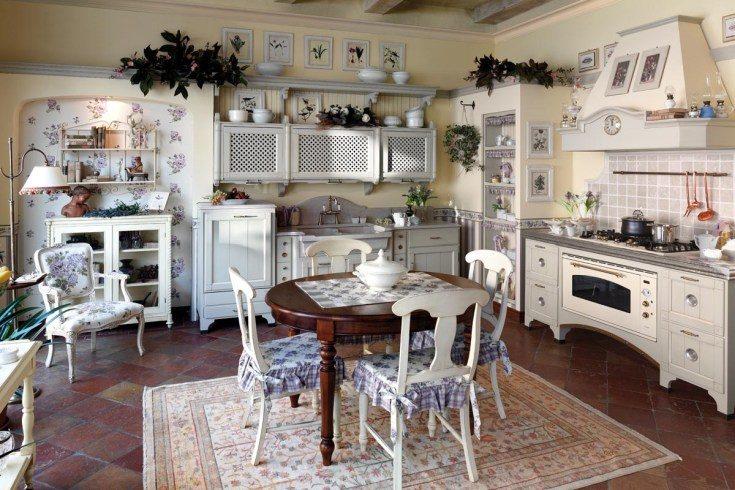 (+80 фото) Кухня в стиле Прованс