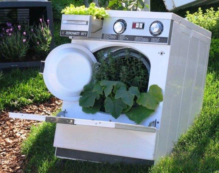 Что можно сделать из сломанной стиральной машины своими руками