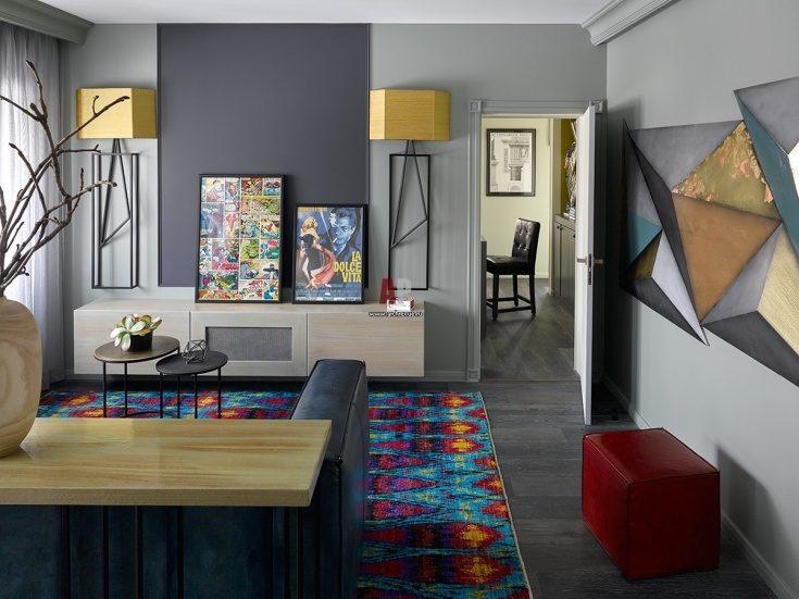 (+59 фото) Интерьер квартиры в стиле фьюжн