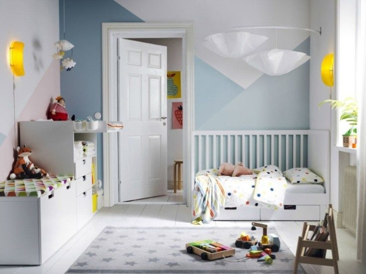 Детская мебель икеа: 97 фото с идеями интерьера детской комнаты