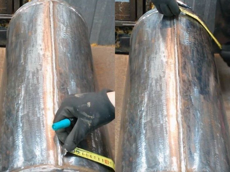 Мангал из газовых баллонов своими руками чертежи