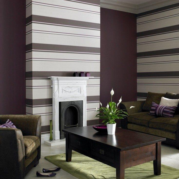 Варианты дизайна гостиной с комбинированными обоями в современном интерьере 50 фото