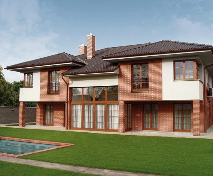 Сравнение цен отделки фасадов частных домов современными материалами