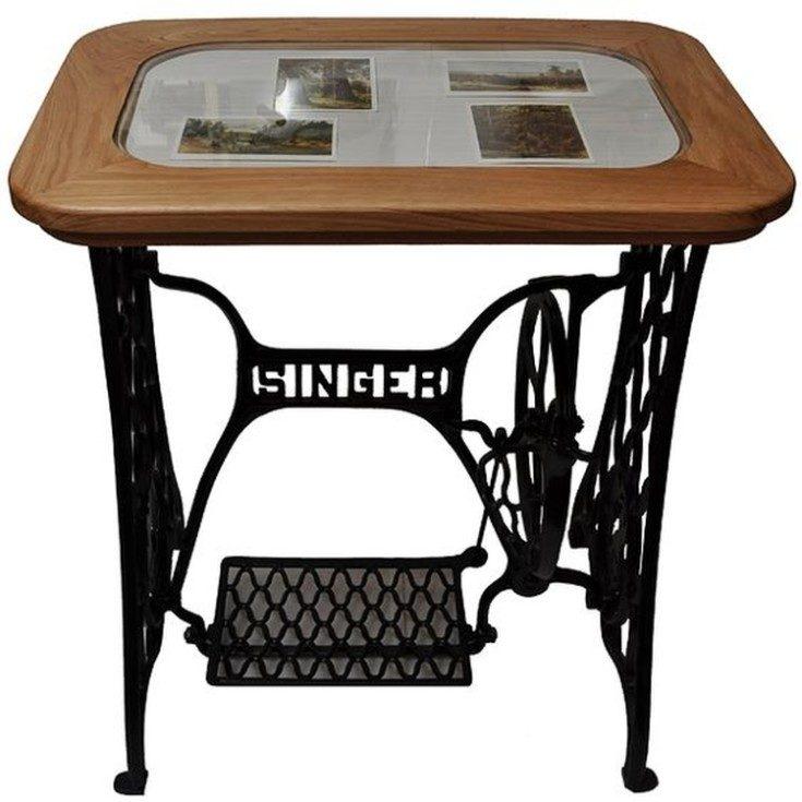 (+85 фото) Декор старого стола своими руками 85 фото