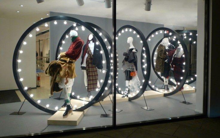 Дизайн оформления витрины магазина крутые идеи
