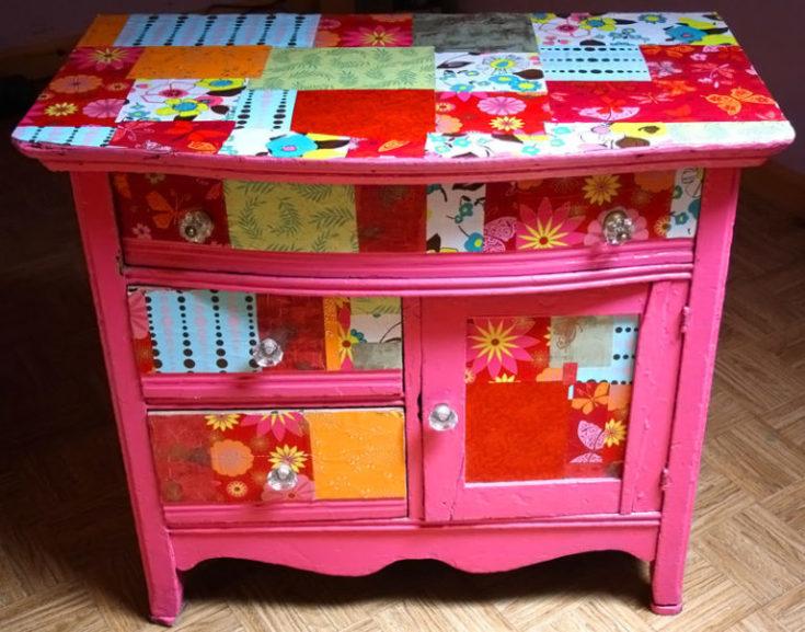 (+127 фото) Декор шкафа своими руками фото идеи советы и инструкции