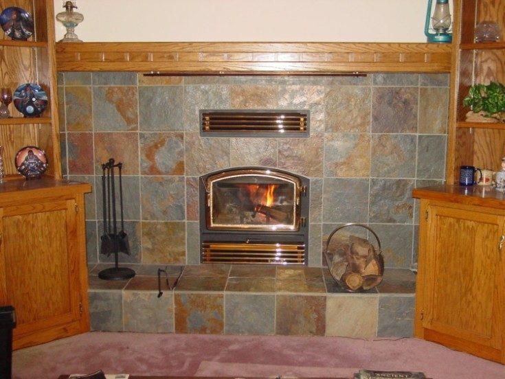 Керамическая термостойкая плитка для печи