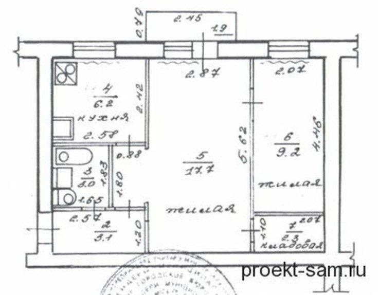 (+70 фото) Схемы и фото планировок 2х комнатных квартир удачные решения