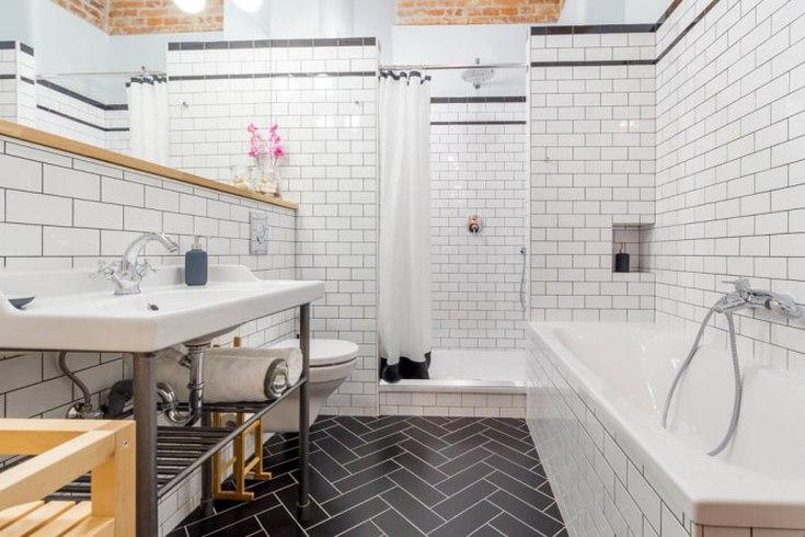 Затирка для плитки в ванной какую выбрать по цвету (белая, серая, чёрная)