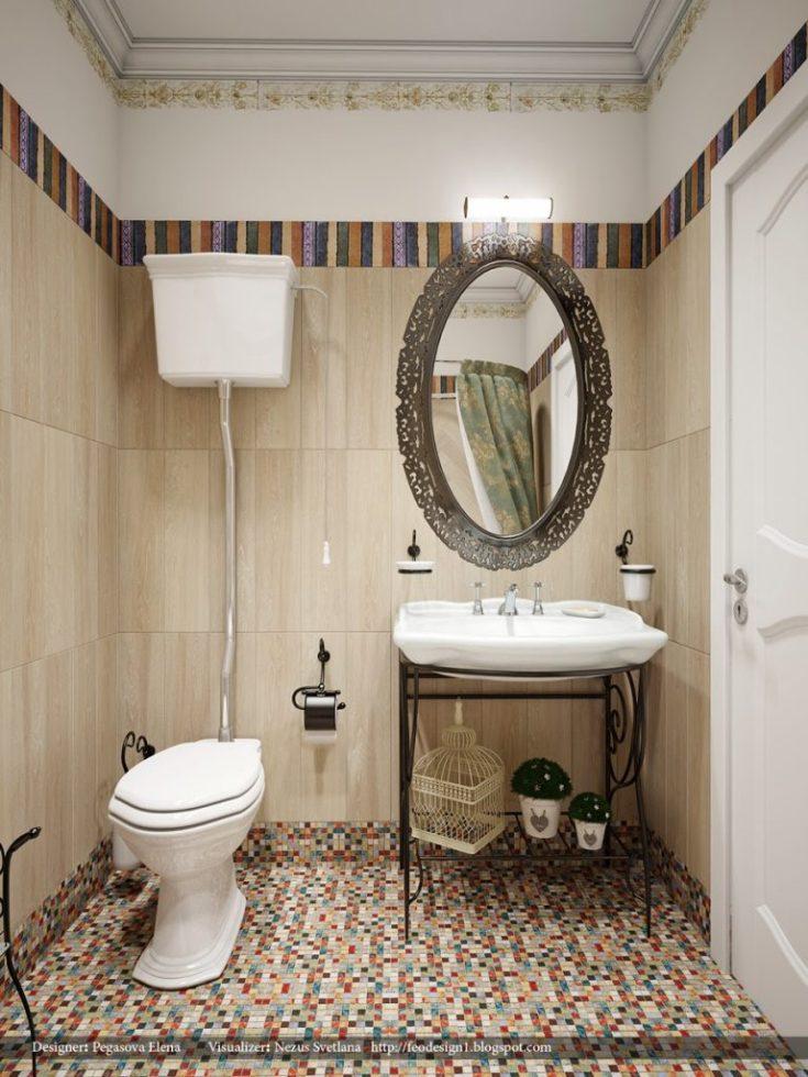Дизайн ванной комнаты 4 кв.м со стиральной машиной и туалетом